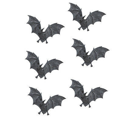 Flying Vampire Bat Statue Home Halloween Wall Decor Gothic Statuary Sculpture