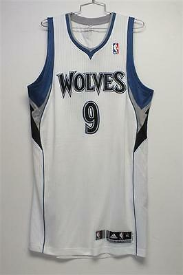 2011-12 Ricky Rubio Game Used Minnesota Timberwolves RC Home Jersey w/ Team LOA