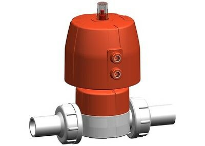 Georg Fisher +GF+ Diaphragm Valve (Fail safe to close) 185684133