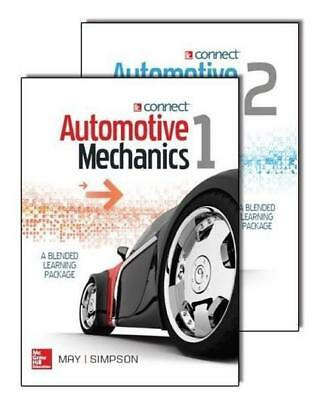 NEW SW Print+CNCT Automotive Mechanics v1+2 By May / Simpson Free Shipping