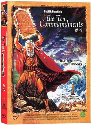 The Ten Commandments (1956) Charlton Heston DVD *NEW