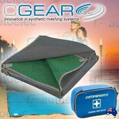 CGEAR MULTIMAT 4.3m x 2.4m ANNEX TENT FLOOR MULTI MAT CAMP COVER MATTING CARAVAN