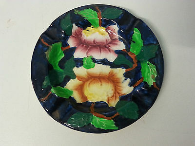 Another lovely Maling ware Peony pattern ashtray. Hand painted