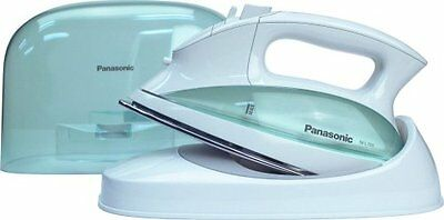 Panasonic NI-L70SR Cordless Iron, Curved Stainless Steel Soleplate,White/Clear