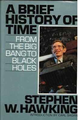 A Brief History of Time by Stephen W Hawking Hardback Book The Cheap Fast Free