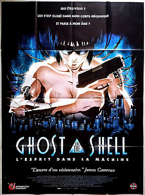 1995 GHOST IN THE SHELL Mamoru Oshii Manga 47x63 french film poster
