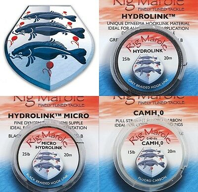 Brand New Rig Marole Hooklink Range - Hydrolink Skinfull Camh20 - All Available