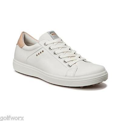 New 2016 Ecco Casual Street Golf Shoes (White)