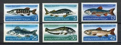 37795) BULGARIA 1983 MNH** Fresh-water Fish 6v