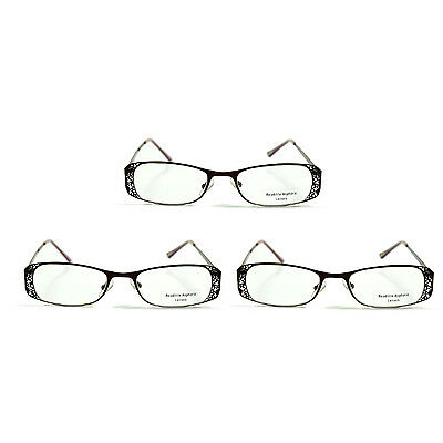 3x Foster Grant Shakespeare Reading Glasses +1.00 to +3.00