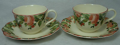 NIKKO china PRECIOUS pattern 9303 Cup & Saucer - Set of Two (2) - 2 ...