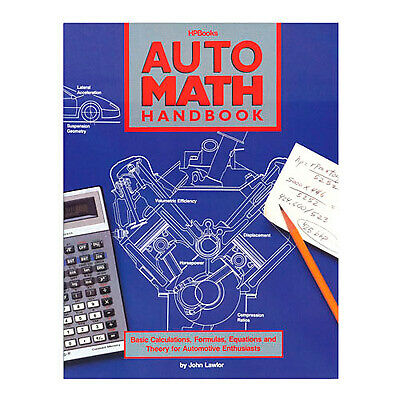 Auto Math Handbook By John Lawlor 5329 ISBN-10: 1557880204