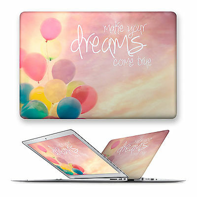 Motivational Hard Front Case Cover For Apple Mac Macbook Air Pro 11 12 13 15