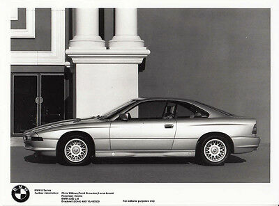 Bmw 8 Series Period Photograph.