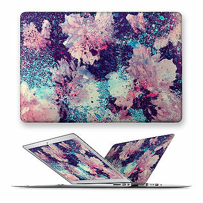 Flower Hard Front Case Cover For Apple Mac Macbook Air Pro Retina 11 12 13 15