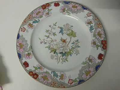 Vintage Victorian mid 1800's Copeland pottery Asian Peony eonies
