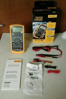 Fluke 87V 87 v True-rms industrial Digital Multimeter Temperature (V)