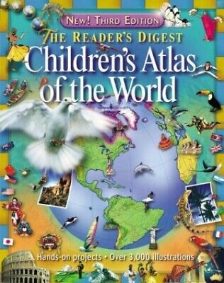 The Reader's Digest Children's Atlas of the World Book The Cheap Fast Free Post