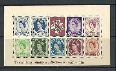 MS2367 2003 Wilding Definitive collection II miniature sheet UNMOUNTED MINT