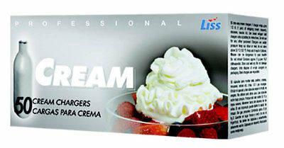 Liss Cream Charger LII1028 Set of 50