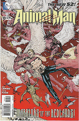 ANIMAL MAN 10...NM-...2012...New 52...Jeff Lemire,Steve Pugh...Bargain!
