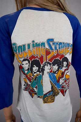 Vtg 1978 The Rolling Stones It's Only Rock N Roll American Tour Concert T-Shirt