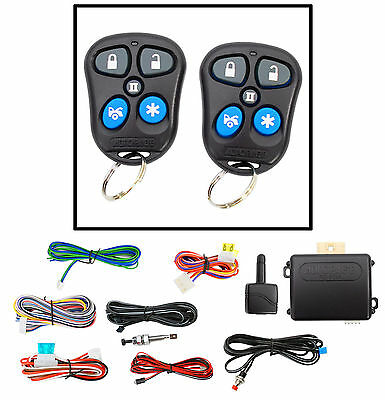 New Autopage RS603A Remote Start Car Starter w/ Keyless Entry+2 Remotes