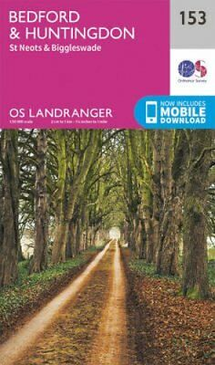 Bedford, Huntingdon, St. Neots & Biggleswade by Ordnance Survey 9780319262511