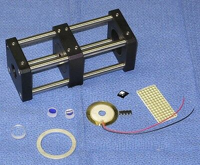 Deluxe Scanning Fabry-Perot Interferometer KIT for Red Lasers