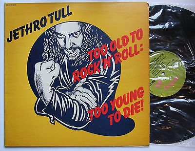 Jethro Tull Too Old To Rock 'N' Roll: Too Young To Die Israel Green Chrysalis