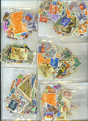 200 Different Worldwide Stamps Off Paper