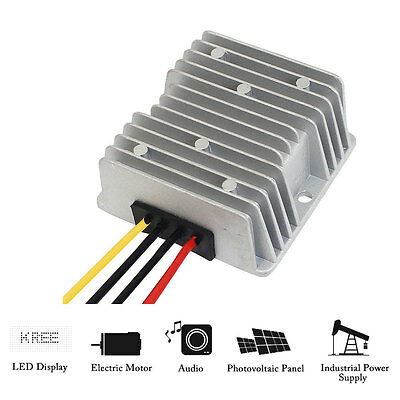 Waterproof DC to DC Step-Down / Up Booster Car Power Supply Converter Regulator