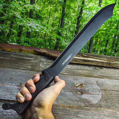 "21"" SURVIVAL HUNTING Combat Military FULL TANG MACHETE Fixed Blade Knife SWORD"