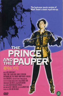 The Prince and the Pauper (1937) Errol Flynn DVD *NEW