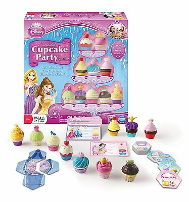 Disney Princess Enchanted Cupcake Party Game by Wonder Forge Medium (01088) NEW