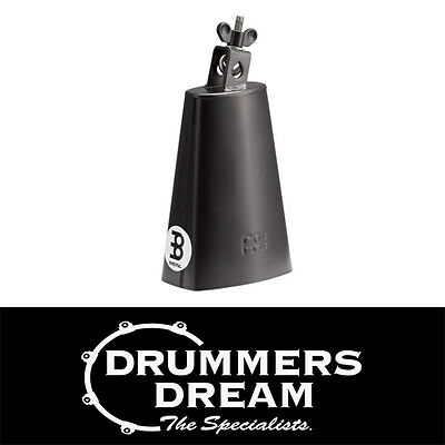 "Brand New Meinl Percussion Cowbell 6 3/4"" Black SL675-BK"
