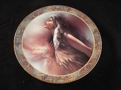 The Promise Lee Bogle Beautiful Maidens NATIVE BEAUTY Plates