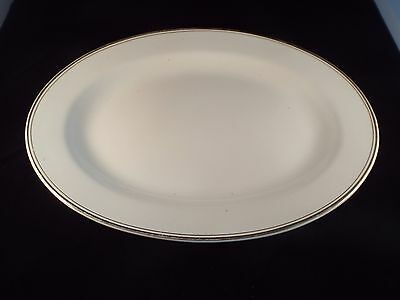 Knowles Taylor Knowles Meat/Serving Platter - Blue & White - Vintage