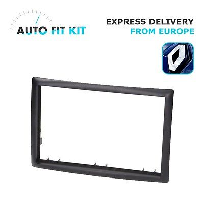 Renault Megane 2002-2009 2 Din Double DIN Radio Facplate Fascia Frame Panel Dash