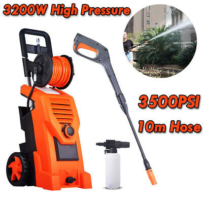 PRO High Pressure Washer Cleaner Electric Water Gurney Pump Hose Cleaning Clean