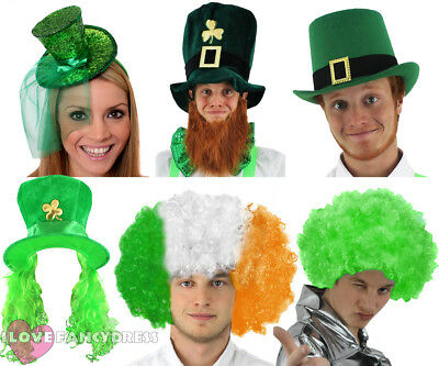 St Patricks Day Fancy Dress Party Accessories Irish Saint Paddys Eire Ireland