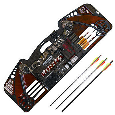 Barnett Vortex Adults Archery Kit Set Compound Bow Right Hand 16-45Lb Draw New