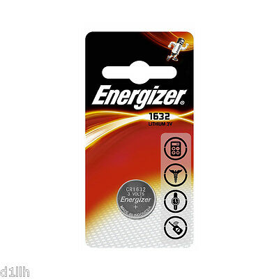 Energizer CR1632 Lithium 3V Button Cell - Carded 1