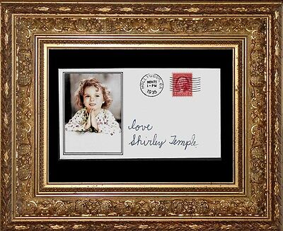 1930s Shirley Temple Featured on Collector's Envelope 80 year old stamp! *X480