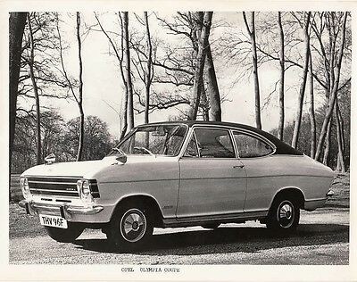 Opel Olympia Coupe Period Photograph.