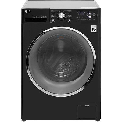 LG F14U2TCN8 A+++ 8Kg 1400 Spin Washing Machine Black New from AO