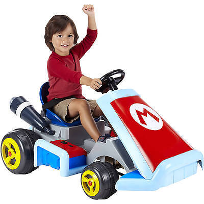 NINTENDO SUPER MARIO KART Kids RIDE ON CAR NEW ON BOX (Discontinued Last one)