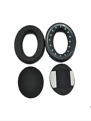 Leather Ear Cushion Earpads Ear Pad for Bose AE 1 Triport TP-1 TP-1A Black