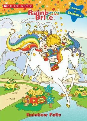 NEW Rainbow Brite Scholastic Coloring Book with Foil Stickers Rainbow Falls