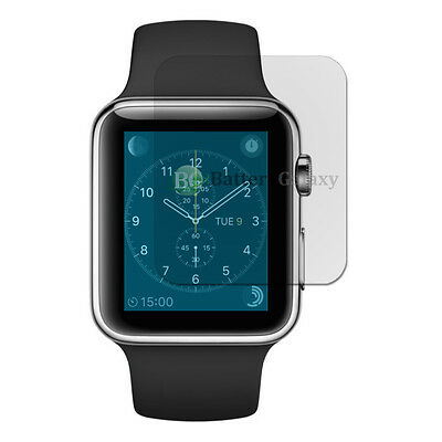 Lot of 100 Clear LCD Screen Shield Protector for Apple iWatch Watch 1st Gen 42mm